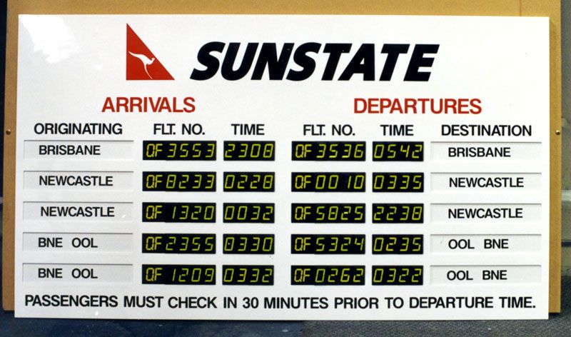 flighttimesigns